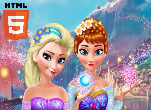 Anna And Elsa Makeover - Frozen Games