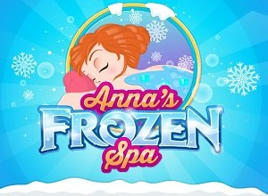 Anna's Frozen Spa - Frozen Games