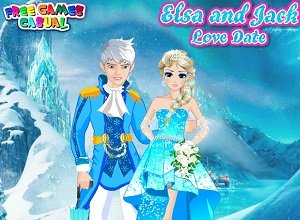 Elsa And Jack Love Date - Frozen Games