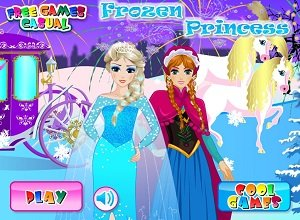 Frozen Princess Dressup - Frozen Games