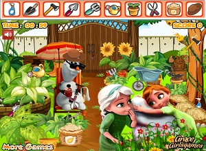 Frozen Princess Garden - Frozen Games