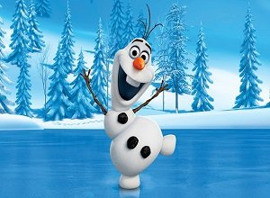 Olaf Jumping - Frozen Games