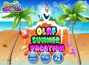 Olaf Summer Vacation - Frozen Games